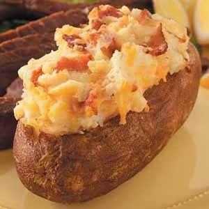 Twice Baked Potatoes.