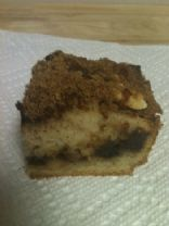 Banana Coffee Cake with Chocolate Chip Streusel