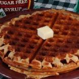 Low-carb Buttermilk Cinnamon Waffles