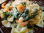 Lemon Shrimp Bowtie Pasta With Fresh Herbs