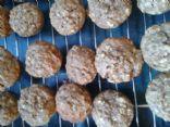 banana oat mini muffins