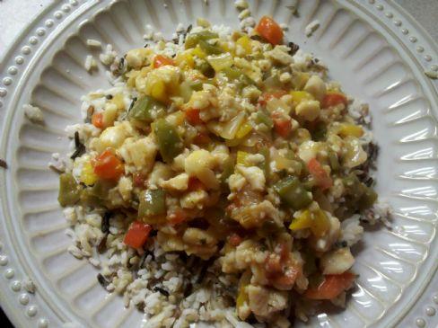 Sandy's Fish Creole