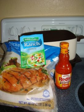 Buffalo Ranch Chicken Tortillas w/ Bell Peppers and Onions