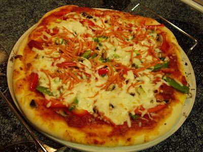 Delicious Low Cal Homemade Pizza Dough