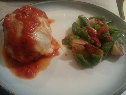 Low Carb Chicken Parmesan Recipe | SparkRecipes