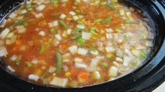 Veggie Soup - LOW SODIUM
