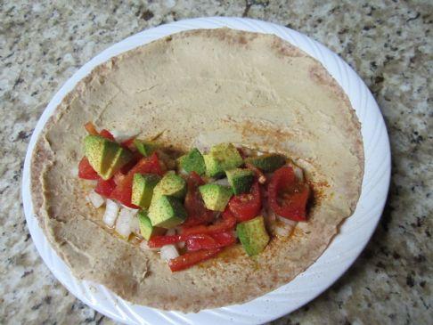 Avocado Burrito