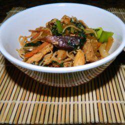 Bariatric Chicken Japchae