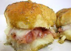 Baked Ham Sandwiches
