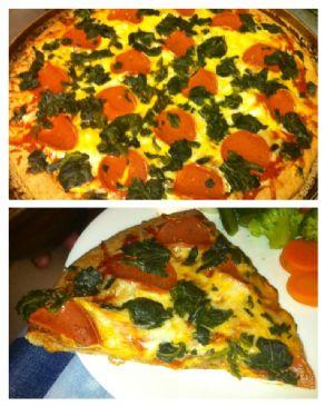 Health Freak Pizza (vegetarian, whole wheat, low fat)