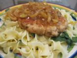 Turkey Salisbury Steak with Onions