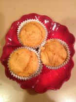 2-Ingredient Pumpkin Muffins - Low Fat