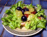Ham and Grape Bruschetta