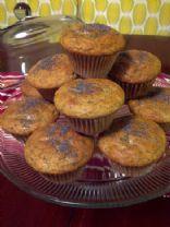 Tangerine Poppy Seed Muffins