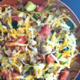 Vegetarian Spaghetti Squash with
