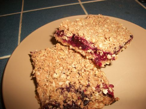 Berry Oat Bars