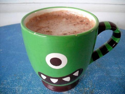 Homemade Hot Cocoa with Truvia