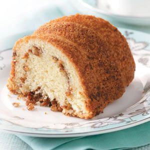 reduced fat low carb sour cream coffee cake