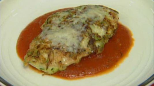 Zucchini Crusted Chicken