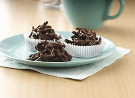 Fiber One� Chocolate-Peanut Butter Haystacks