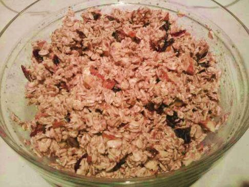 Allison's Homemade Granola-Crusted Oatmeal