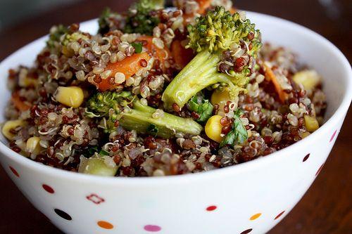 Quinoa Veggie Terriyaki Stir Fry