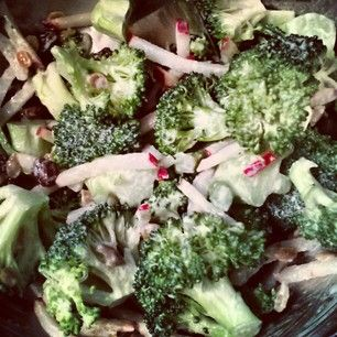 Broccoli Salad for One