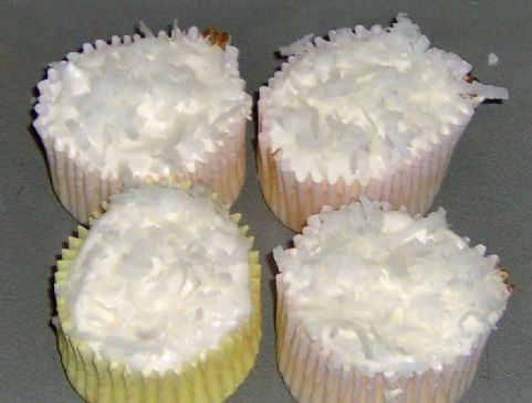 Coconut Cream Fluffcakes (Hungry Girl)