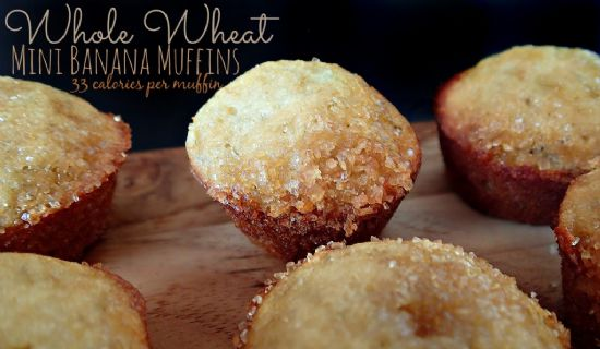 Banana Muffins with Cranberries