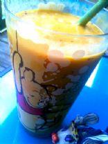 Decadent Peanut Butter Mango Smoothie