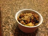 Guiltless Apple Crisp (GF & vegan)