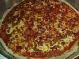 Keto Bacon & Cheese Pizza