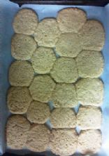 Coconut Oatmeal Almond Cookies
