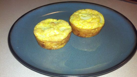 Healthy Uncrusted Mini Quiches
