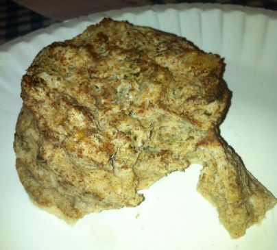Apple Pie Bread Pudding (microwavable high-protein snack!)