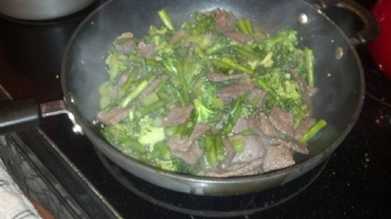 quick beef and broccoli stir fry