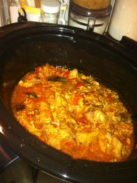 Crock Pot (Slow Cooker) Chicken Rice Curry
