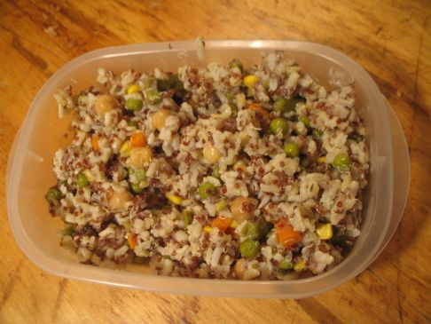 Brown Rice & Quinoa Veggie Risotto