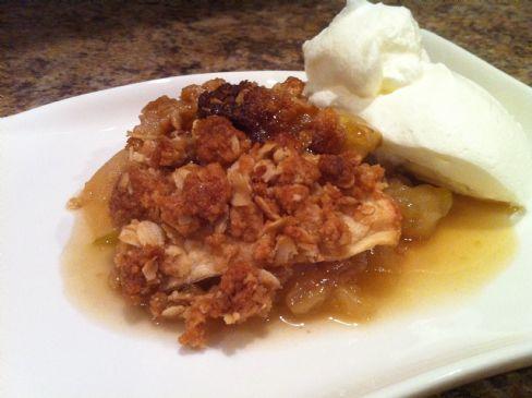 Vermont Maple Apple Crisp