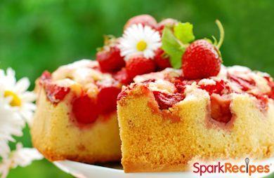 Upside-Down Strawberry Shortcake