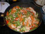 Go-To Salmon Stir Fry