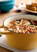 Slow cooked White chili