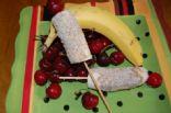 80-Calorie Banana Split Pops (by POPPYKLAPROOSJE)