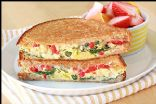 Healthy Egg 'n Veggie Breakfast Sandwich