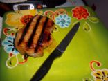 Cherry Mustard Glazed Pork Loin Chops