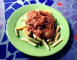 Vegetarian meat sauce
