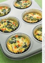 Spinach & Mushroom Frittata Cups