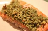 Almond Encrusted Salmon Fillets