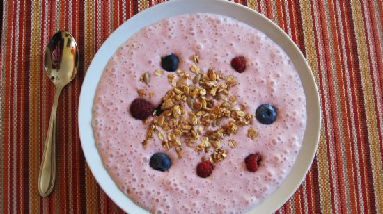 Strawberry Smoothie  Oatmeal