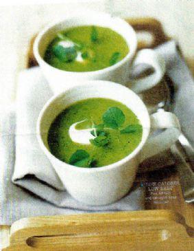 Pea, Lettuce & Tarragon Soup